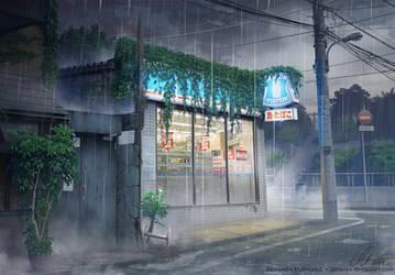 The Convenience Store - Rain