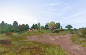 <b>Landscape Study</b><br><i>Zanariya</i>