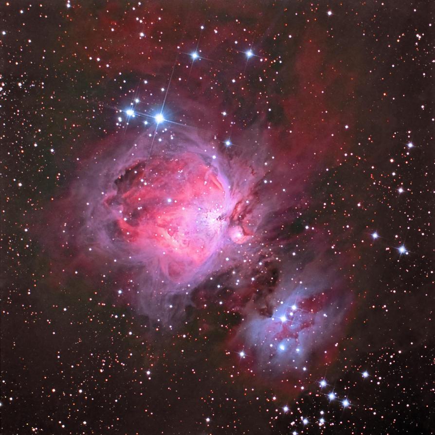 Orion Nebula Complex by DoomWillFindYou