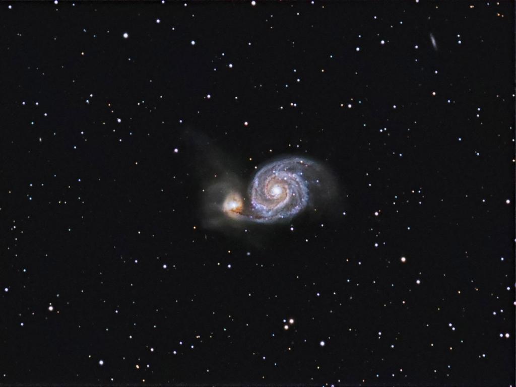 Whirlpool Galaxy by DoomWillFindYou