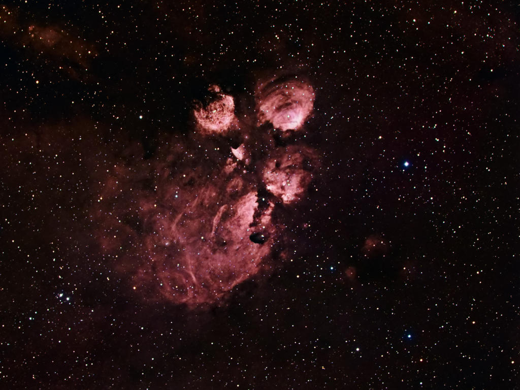 NGC 6334 - Cat's Paw Nebula by DoomWillFindYou