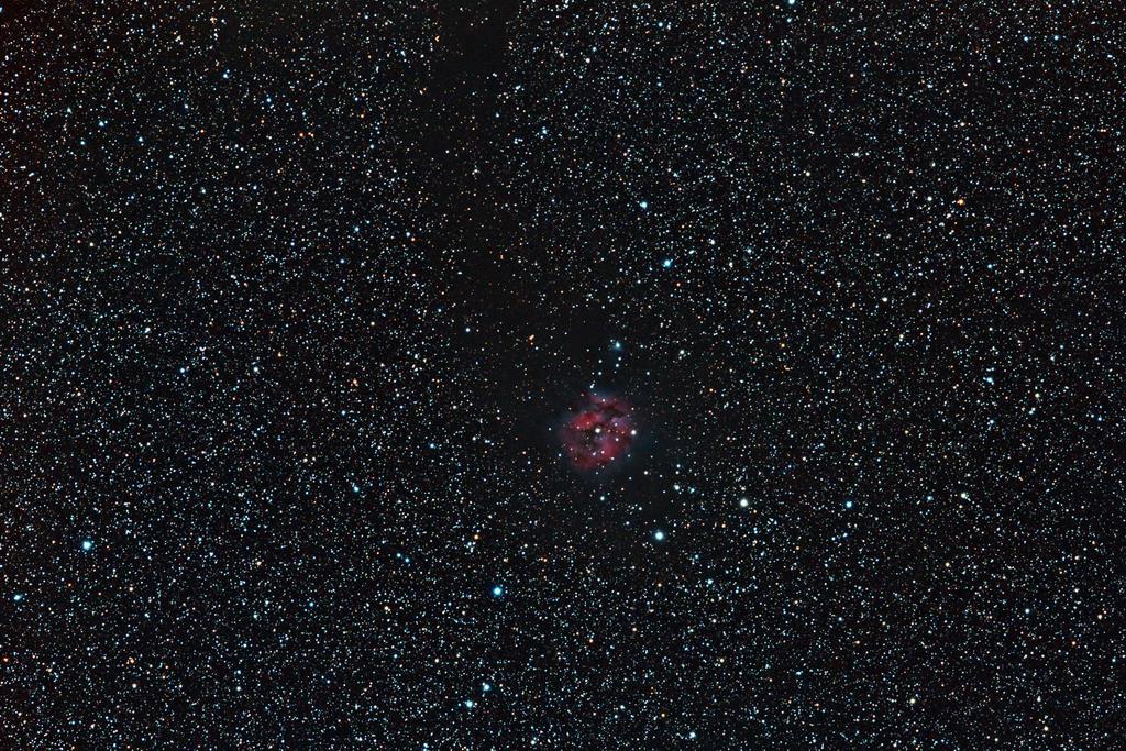 IC 5146 - Cocoon Nebula by DoomWillFindYou