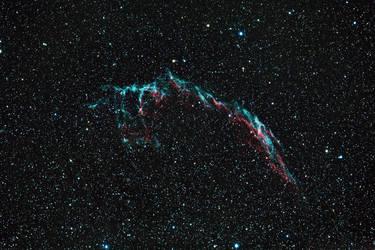 NGC 6992 - Veil Nebula by DoomWillFindYou