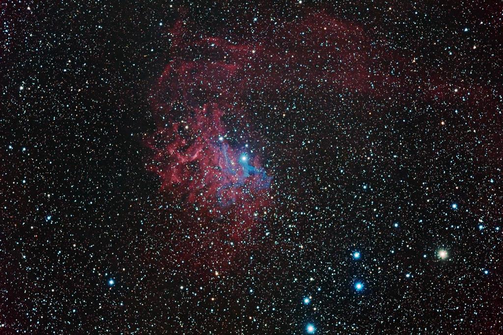 IC 405 - Flaming Star Nebula by DoomWillFindYou on DeviantArt