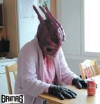 Alien / creature makeup test 2014 by: Ari Savonen.