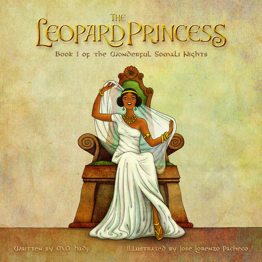 The Leopard Princess - COVER by pezbananadesign