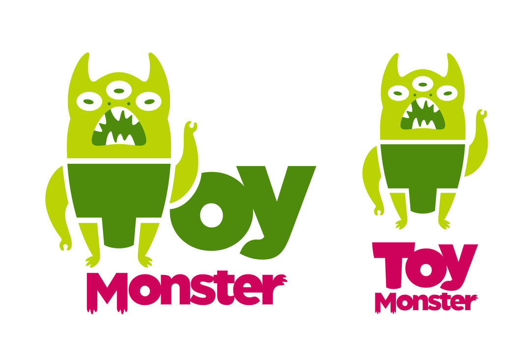 Toy Monster Logo by pezbananadesign