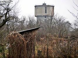 Old water tower on Kuzniki by COREnick