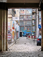 One of the alleys of Ruska street by COREnick