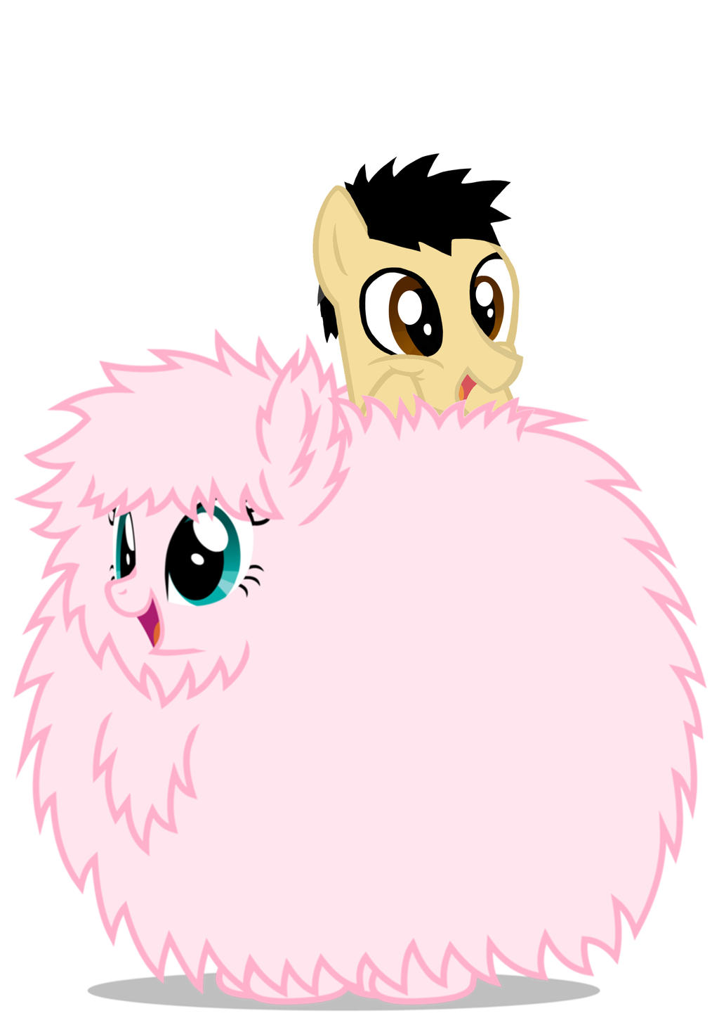 XD by Dragonsmiter45 Fluffle Puff is KAWAII!!! XD by Dragonsmiter45