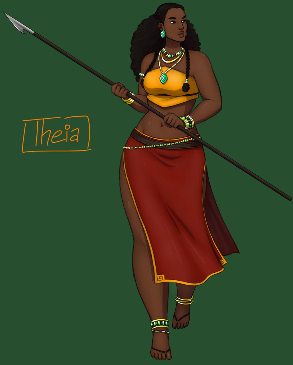 African goddess braids