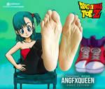 Bulma Dragon Ball feet soles - Dragon Ball ToeZ