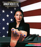 Alexandria Ocasio Cortez feet soles toes