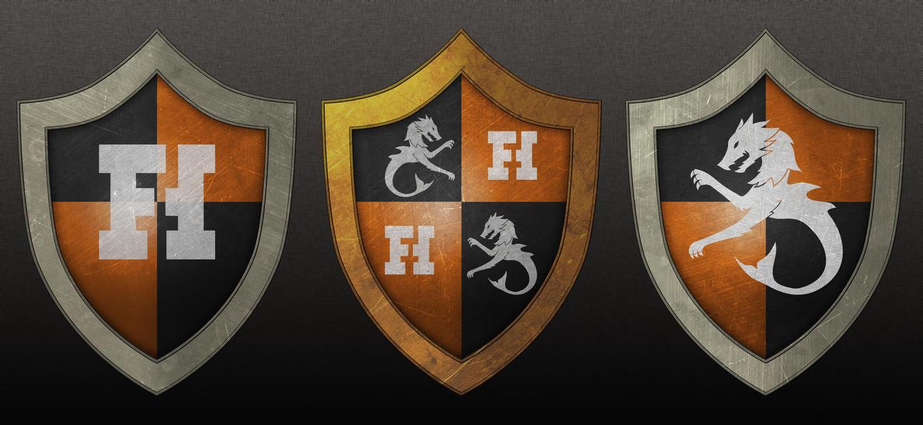 Funhaus Shields by RaighnDraconus