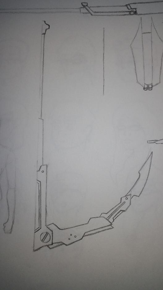 RWBY Scamp Corsair weapon WIP by RaighnDraconus