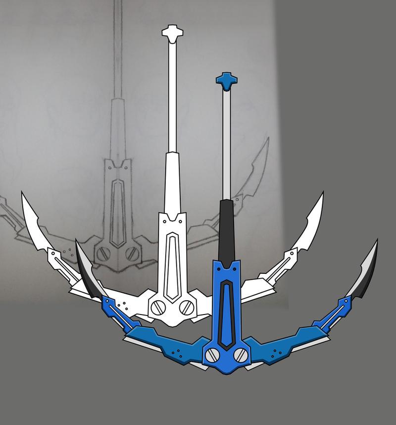 RWBY Scamp Corsair weapon progression by RaighnDraconus
