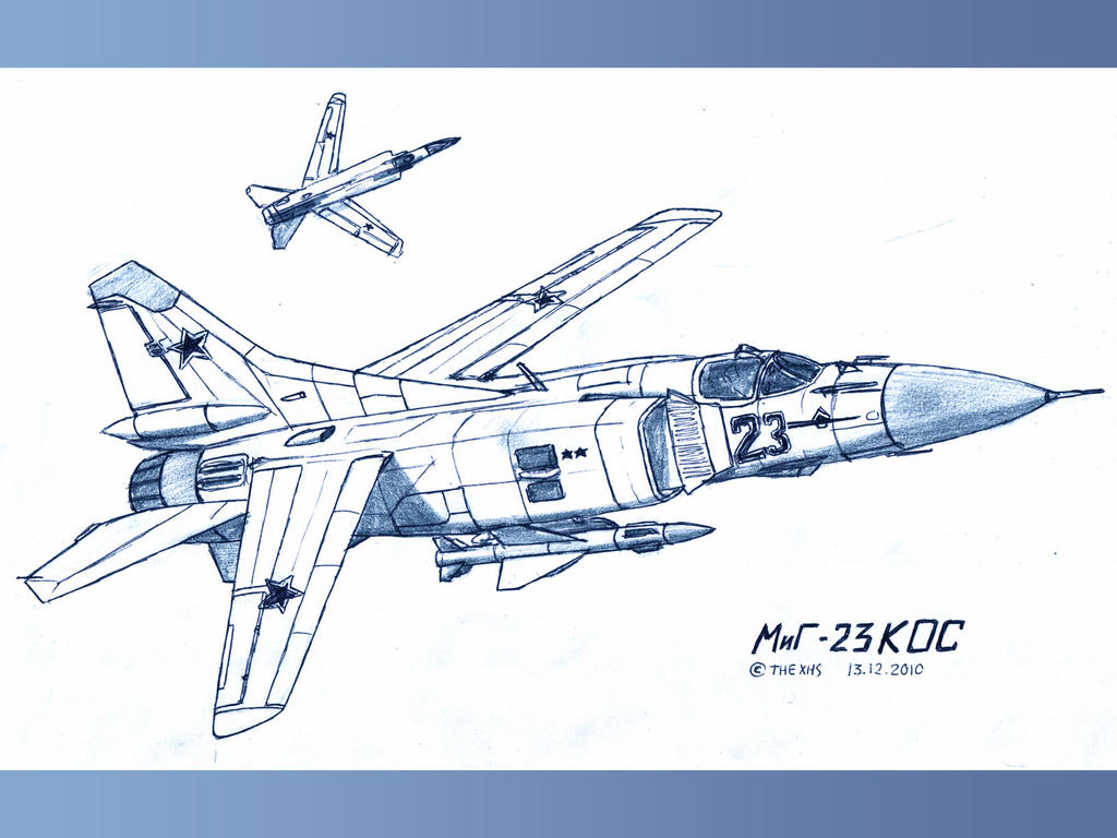 Mig-23 FSW by TheXHS