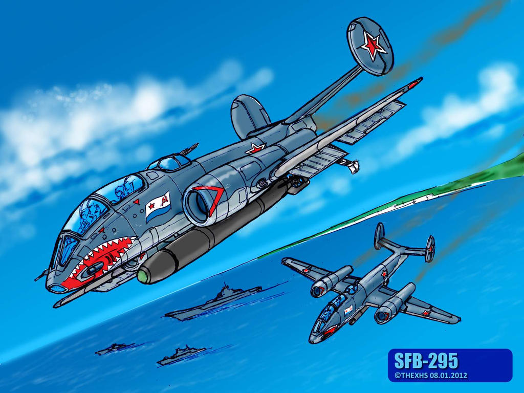SFB-295 in color by TheXHS