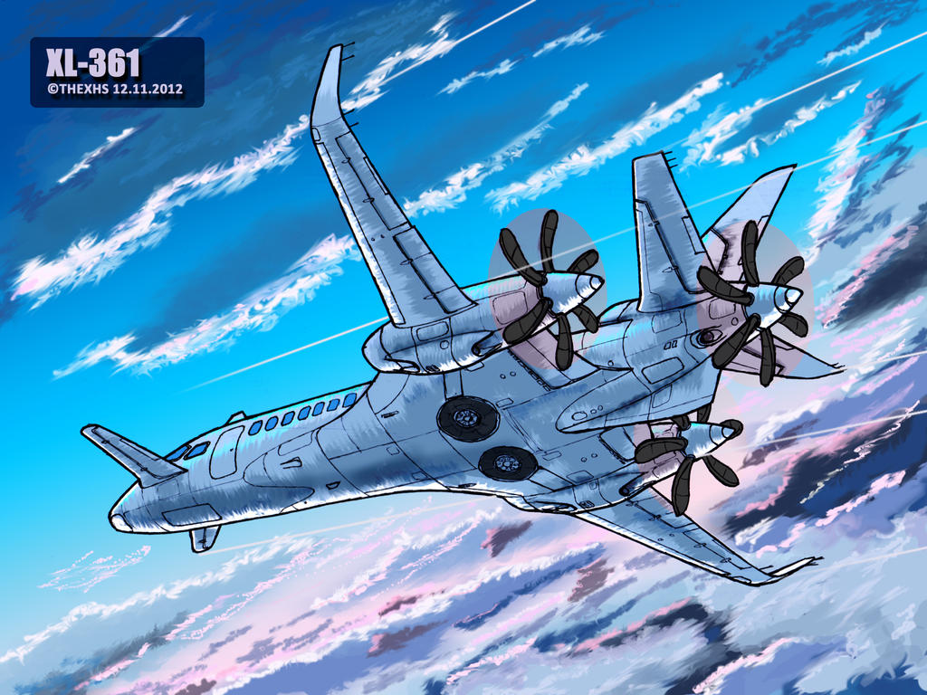 XL-361 in sky by TheXHS