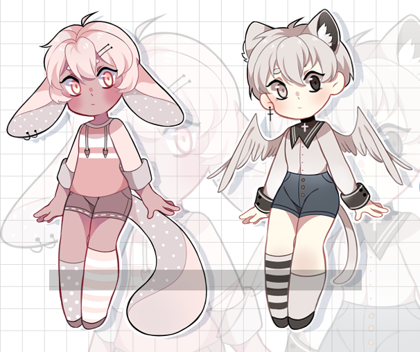 Adopt auction [closed] /Trying to sell them again/ by JeffreyAdopts