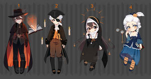 [closed] Halloween Adoptable auction