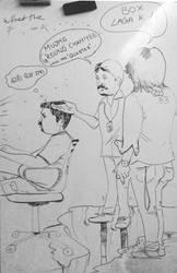Abhijit VS Vamsi muchmuch by mrgaichor