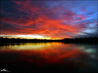 greenlake sunrise by NWunseen