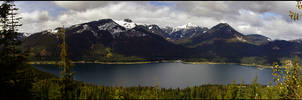 lake kechelus panorama