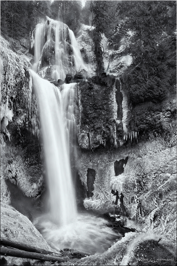 falls creek falls -bw- by NWunseen