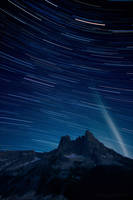 liberty star trails by NWunseen