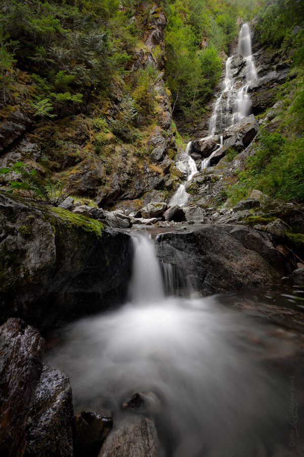 ketchum creek falls by NWunseen