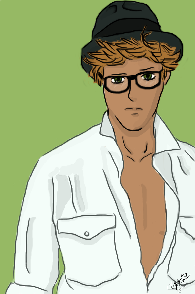 Jean-Baptiste Maunier as a manga by Tenko-senpai on DeviantArt