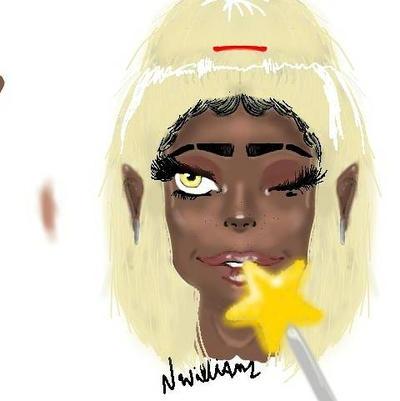 Black fairy  by sassiNef