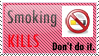 Anti Smoking Stamp. by lovehorses14