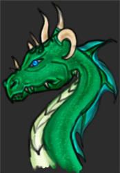 Green Dragon by 007mi6
