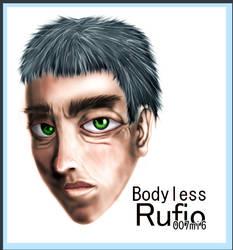 Bodyless Rufio by 007mi6