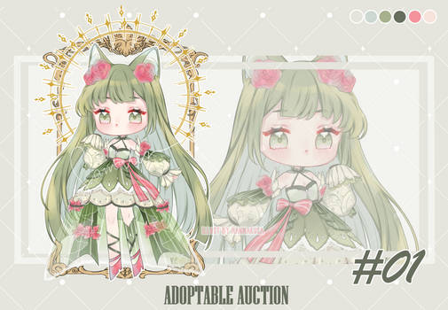 [CLOSED] ADOPTABLE AUCTION #01