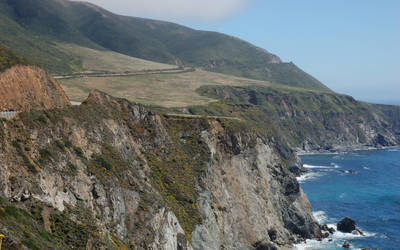 Highway 1, California by skwitko