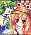 I love my sister Touhou