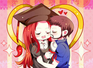 Commission chibi couple
