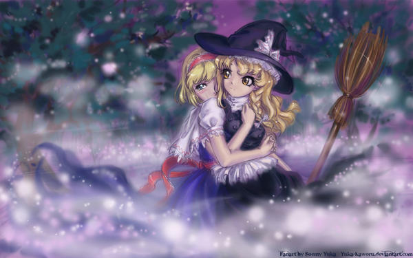 Alice and Marisa....