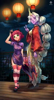 Annie and Soraka - Art of Revelry Contest