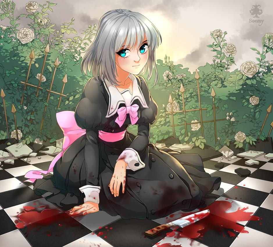 Yuzu in mad garden by Yuka-Soemy