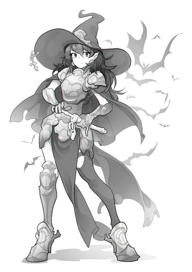 Witch by Yuka-Soemy