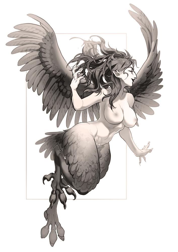 Harpy by Yuka-Soemy