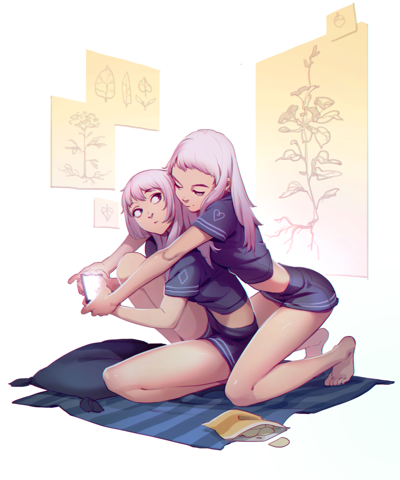 Distracted by Yuka-Soemy