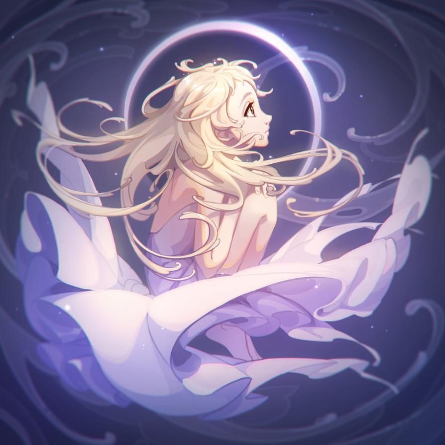 Moon by Yuka-Soemy