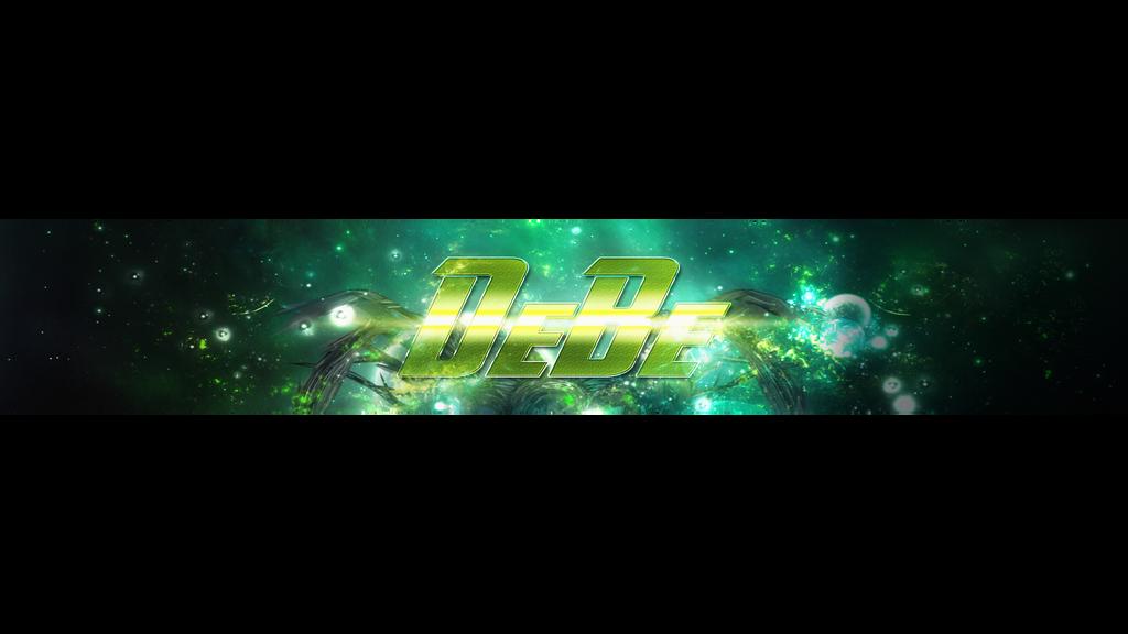 DeBe youtube banner by briedizz
