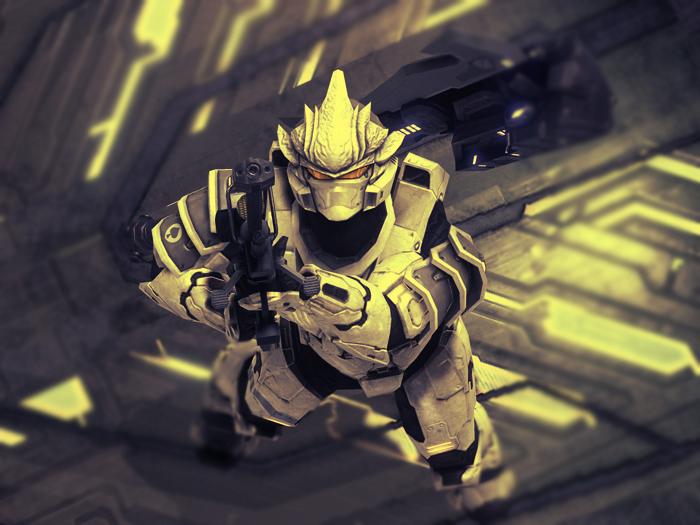 Halo 3: my Hayabusa guy by republic190 on DeviantArt