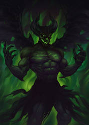 Green Demon by Keiler-art